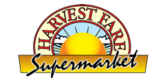 A theme logo of Harvest Fare